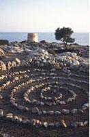 Steinkreis auf Kreta